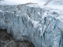 Glacier View from Helicopter
