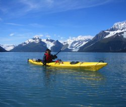 Alaska - Kayaking in the Water